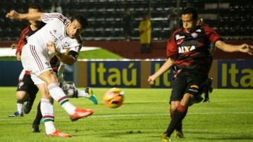 Fred marcou o gol do empate do Flu (Foto: Divulgação/Fluminense)