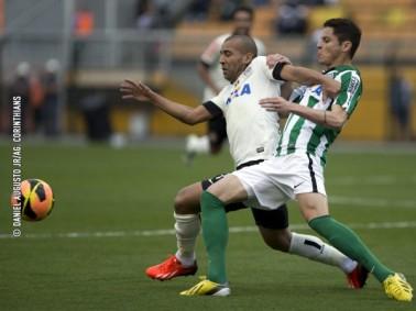 Jogo com muita marcação e poucas chances de gol. (Foto: Divulgação/Site do Coritiba)