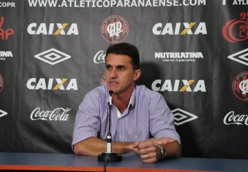 Com a chegada de Mancini, o Furacão engrenou na competição (Foto: Bruno Baggio/Reprodução do Site Oficial AtléticoPR)