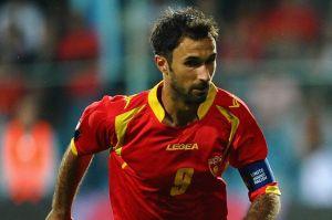 Vucinic é o principal jogador da seleção de Montenegro (Foto: Getty Images)