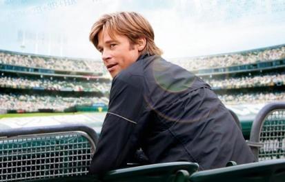 Brad Pitt viveu Billy Beane no cinema em Moneball, o homem que virou o jogo (Foto: Divulgação)