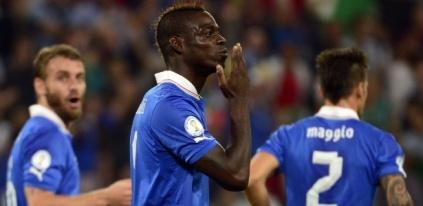 A Itália confirmou sua presença na Copa de 2014; Holanda também se classificou (Foto: Olivier Morin/AFP)