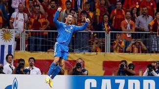 Cristiano Ronaldo começou a UCL com um hat-trick (Foto: Reuters)