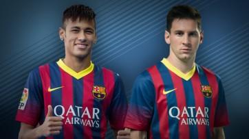 Dupla Messi e Neymar dará certo? (Foto: Reprodução/Divulgação Site Oficial Barcelona)