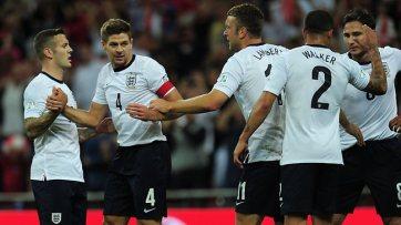 Ingleses comemoram goleada sobre a Moldávia no Grupo H (Foto: Getty Images)