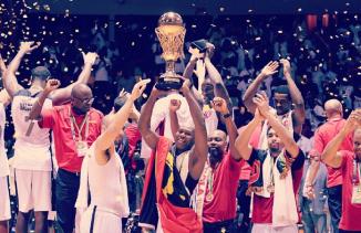 Angola repete o feito do AfroBasket 2007 e conquista o 11º título. (Foto: Reprodução/Instagram)