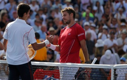 Djokovic venceu Wawrinka em partida com mais de 4 horas de duração (Foto: Reuters)