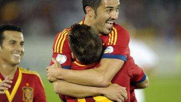 Espanha está em primeiro lugar no Grupo I (Foto: Lehtikuva/Reuters)