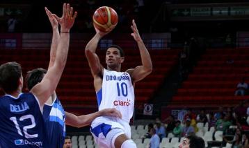 James Feldeine é um dos destaques da seleção dominicana. (Foto: Divulgação/FIBA)