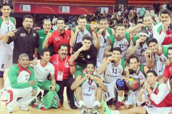 Seleção mexicana comemora o título. (Foto: Reprodução/Instagram)