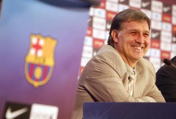 Tata Martino não terá vida fácil no Barcelona (Foto: Miquel Benitez/Getty Images)