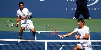 Marcelo Melo avançou ao lado de Ivan Dodig (Foto: Divulgação/US Open)