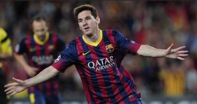 Messi é o segundo maior artilheiro da Champions com 62 gols (Foto: Josep Lago/ AFP Photo)