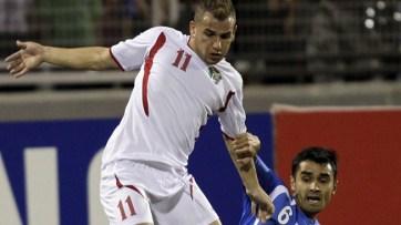 A Jordânia irá disputar a repescagem com o quinto colocado da América do Sul (Foto: AFP)
