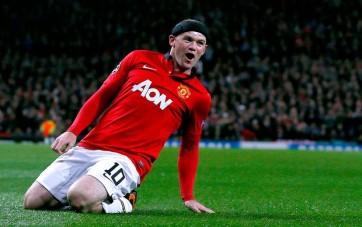 Mais uma vez, Rooney foi o destaque do Manchester United (Foto: Reuters)