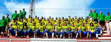 A seleção brasileira de Futebol Americano: eles estão lá por amor ao esporte (Foto: Reprodução)