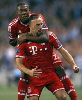Ribéry fez o primeiro gol do Bayern de Munique (Foto: Reteurs)