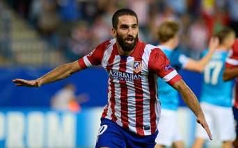 Turan fez o gol da vitória do Atlético (Foto: Getty Images)
