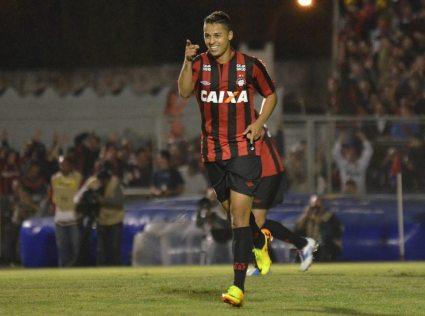 Atacante foi o responsável por garantir a vantagem para o jogo de volta, na Arena Grêmio (Foto: Divulgação/Site Oficial do CAP)