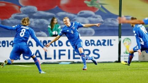 Islândia garante vaga na repescagem e pode fazer história (Foto: Getty)
