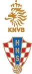 Escudos Holanda e Croácia