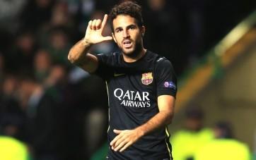 Fàbregas marcou o gol da vitória (Foto: Getty Images)
