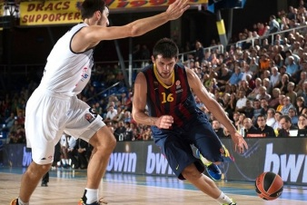 O grego Kostas Papanikolaou venceu em sua estreia na Euro pelo Barça. (Foto: EuroLeague.net)