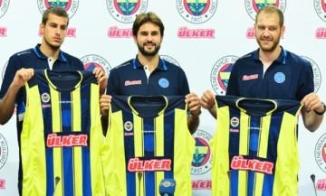 Bjelica, Kleiza e Zoric são as novidades no Fenerbahçe. (Foto: Agencija Anadolija)