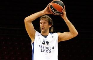O croata Zoran Planinic é a novidade do Anadolu Efes. (Foto: Divulgação/EuroLeague)
