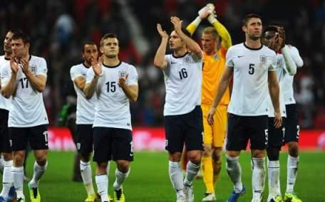 Ingleses comemoram mais uma vaga garantida para um Mundial (Foto: Getty Images)