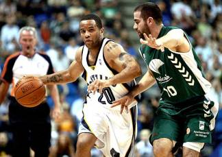 Em 2007, o Málaga derrotou o Grizzlies. (Foto: Getty Images)