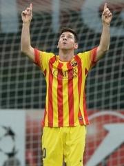 Lionel Messi anotou o gol de empate (Foto: Getty Images)