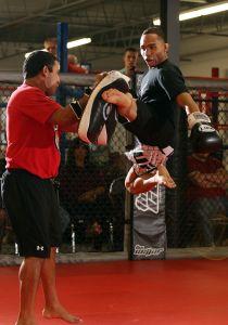 (Dodson decolou nos treinos e também no octógono. Foto: Divulgação/UFC)