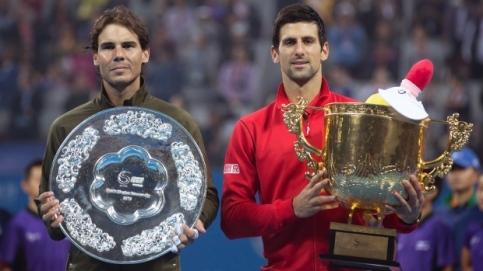 Nadal e Djokovic vão brigar pela liderança do ranking  (Foto: Andy Wrong/The Associated Press)