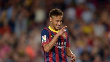 Neymar está se destacando no Barcelona  (Foto: Manu Fernandez/AP Photo)