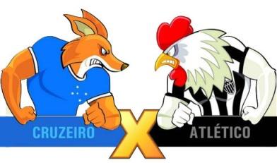 Cruzeiro e Atlético lutam entre si e a favor de Minas  (Foto: Reprodução Blog do Madeira)