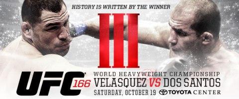 Velásquez e Cigano se enfrentam no Texas (Foto: Divulgação UFC)