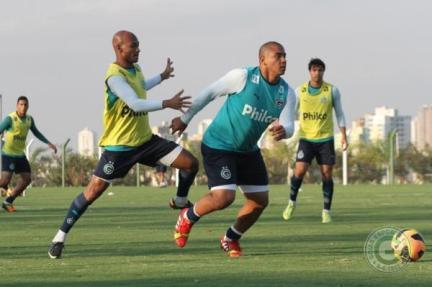 Clube goiano sentiu a falta de seu principal destaque e saiu derrotado do jogo (Foto: Divulgação/Site Oficial do Goiás)