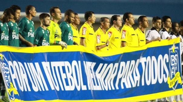 """""""Por um futebol melhor para todos"""" (Foto: ESPN)"""