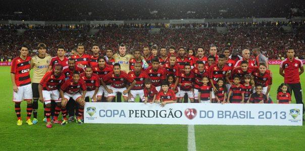 Flamengo é o campeão da Copa do Brasil de 2013 (Foto: Reprodução Facebook Oficial)