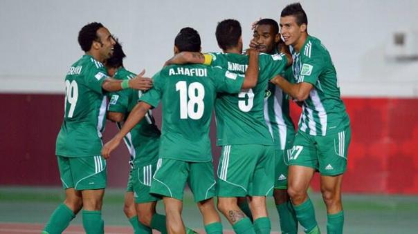 Hafidi comera o gol que classificou o Raja (Foto: Divulgação FIFA)